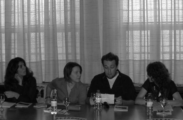 Elsa Serra, Renata Correia, Ricardo Campos e Irene